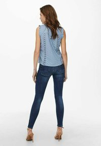 ONLY - Blus - faded denim - 2