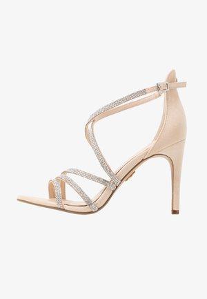 MAKAI - Højhælede sandaletter / Højhælede sandaler - nude
