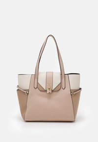 Dorothy Perkins - PADLOCK SHOPPER - Tote bag - blush - 0