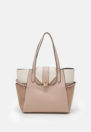 PADLOCK SHOPPER - Tote bag - blush