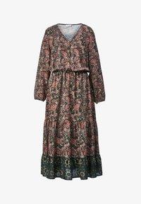 Angel of Style - Day dress - dunkelgrün,altrosa - 4