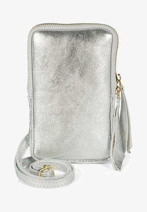 Across body bag - silber