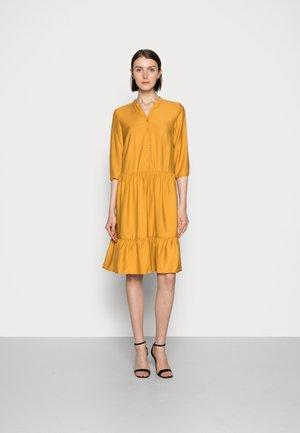 VOLANT BLOUSEDRESS - Shirt dress - gold