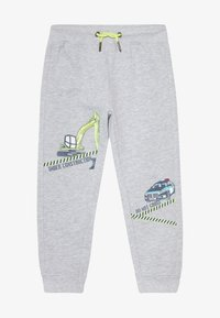 Blue Seven - KIDS POLICE CAR DIGGER - Tracksuit bottoms - nebel original - 3