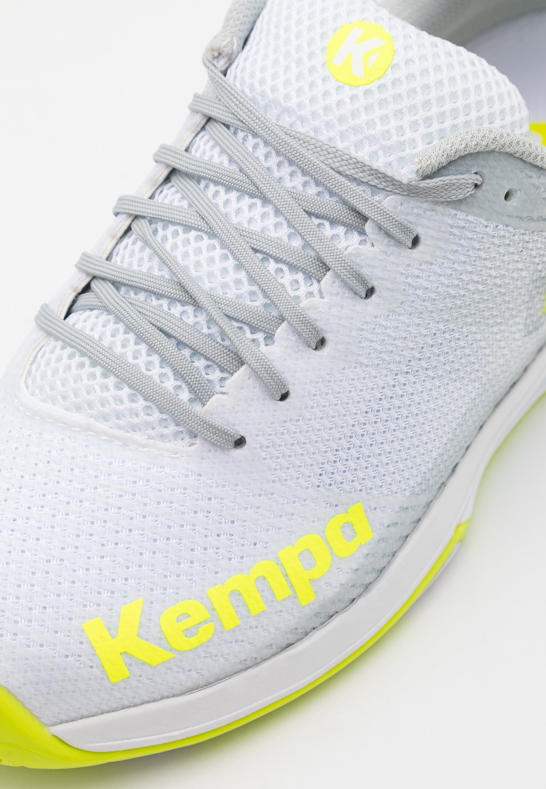 Kempa WING 2.0 Håndballsko whiteflou yellow Zalando.no