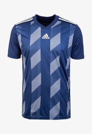 STRIPED 19 AEROREADY CLIMALITE PRIMEGREEN FOOTBALL JERSEY - Print T-shirt - dark blue