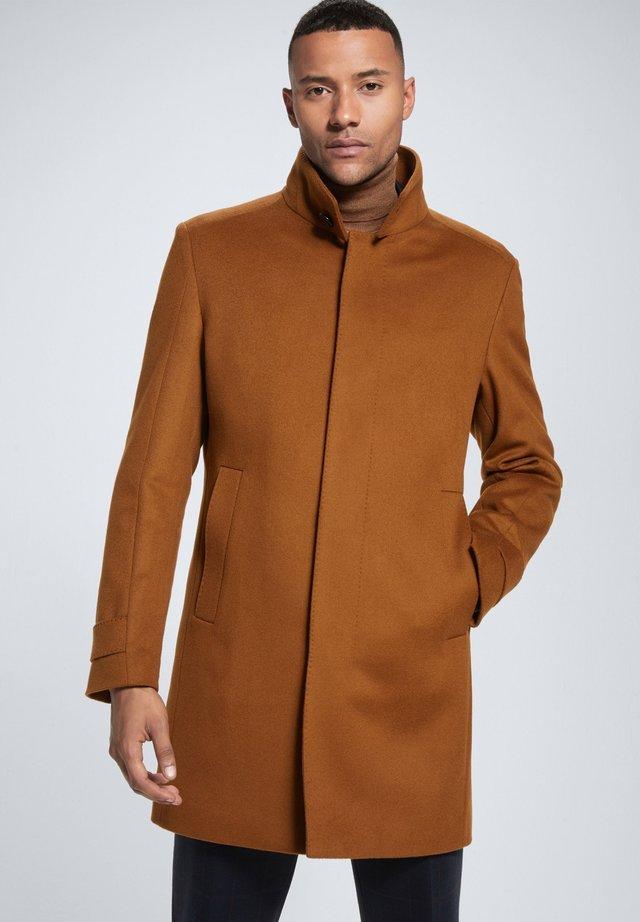 NEW - Wollmantel/klassischer Mantel - braun