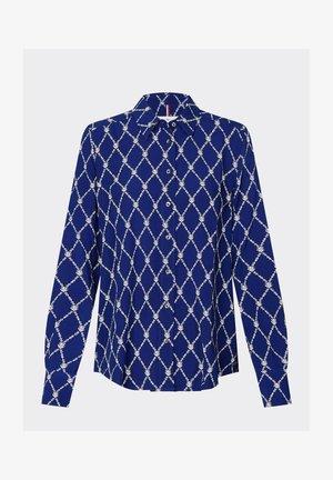 DANEE - Skjorte - thc monogram prt / blue ink
