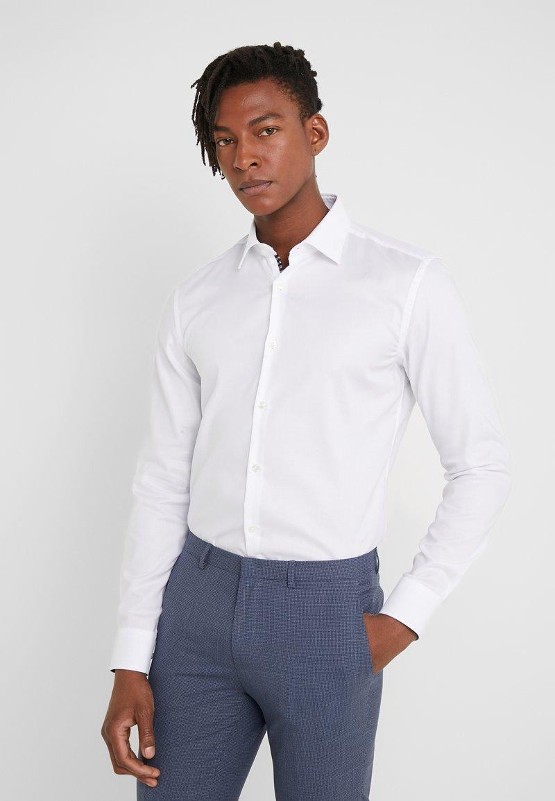 HUGO - KOEY SLIM FIT - Camicia elegante - open white