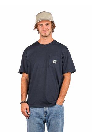 POCKET LABEL S - T-shirt basic - eclipse navy