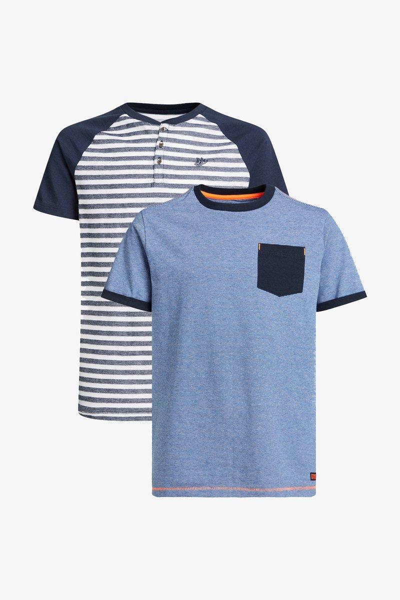 WE Fashion - 2-PACK - Print T-shirt - multi-coloured