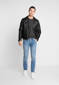TOM TAILOR DENIM - SLIM PIERS - Slim fit jeans - bright blue denim - 1