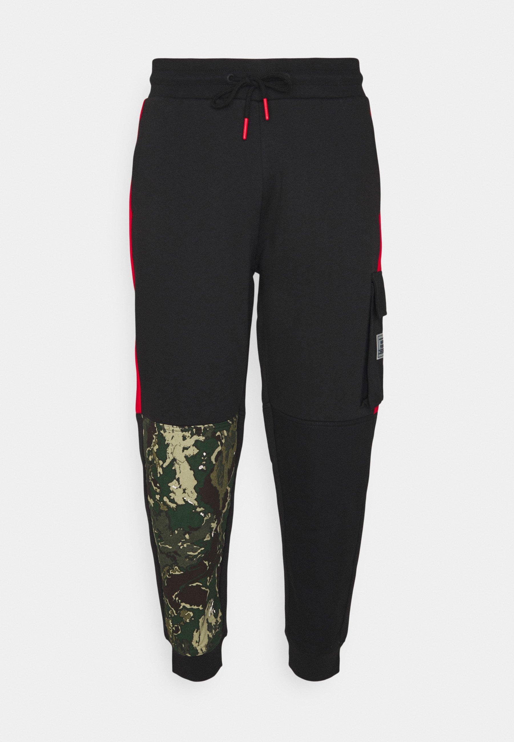 Homme CAMO BLOCK - Pantalon cargo