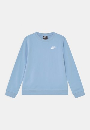 CREW CLUB - Mikina - psychic blue/white