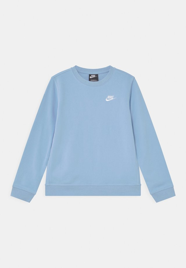 CREW CLUB - Sweater - psychic blue/white