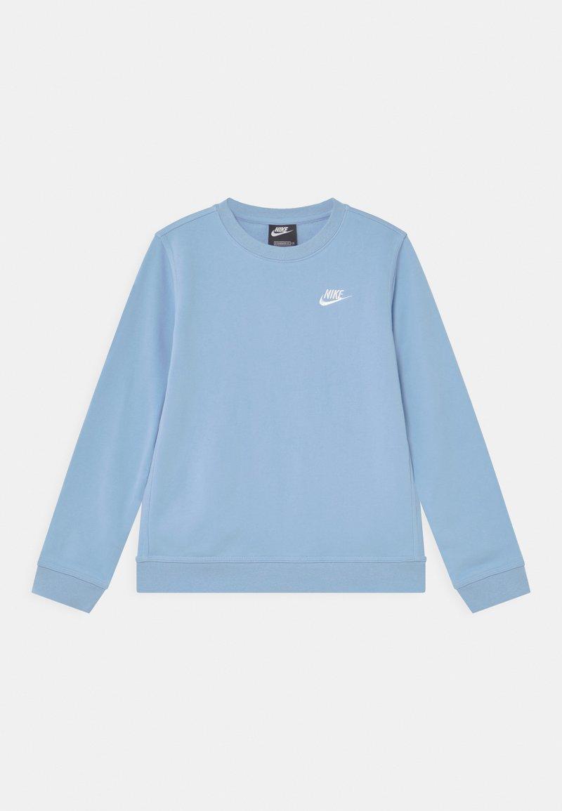 Nike Sportswear - CREW CLUB - Sweatshirts - psychic blue/white