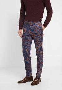 Topman - PRINTED TROUSER - Oblekové kalhoty - multi - 0