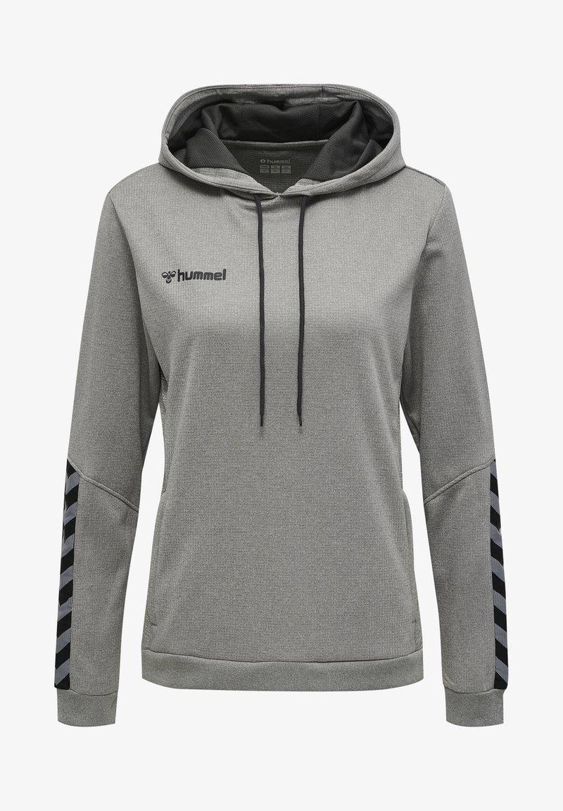 Hummel - AUTHENTIC - Hoodie - grey melange