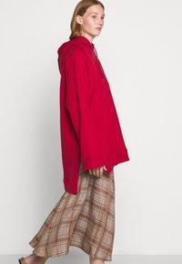 Rika - FLOW SKIRT - A-line skirt - brown/red - 3