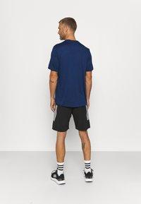 adidas Performance - T-shirts basic - team royal blue melange/black - 2