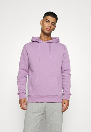 EMBROIDERED MINI SCRIPT LOGO HOODY - Sweatshirt - dusty purple