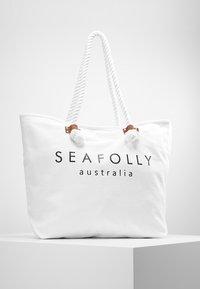Seafolly - SHIP SAIL TOTE - Strandaccessoire - white - 0