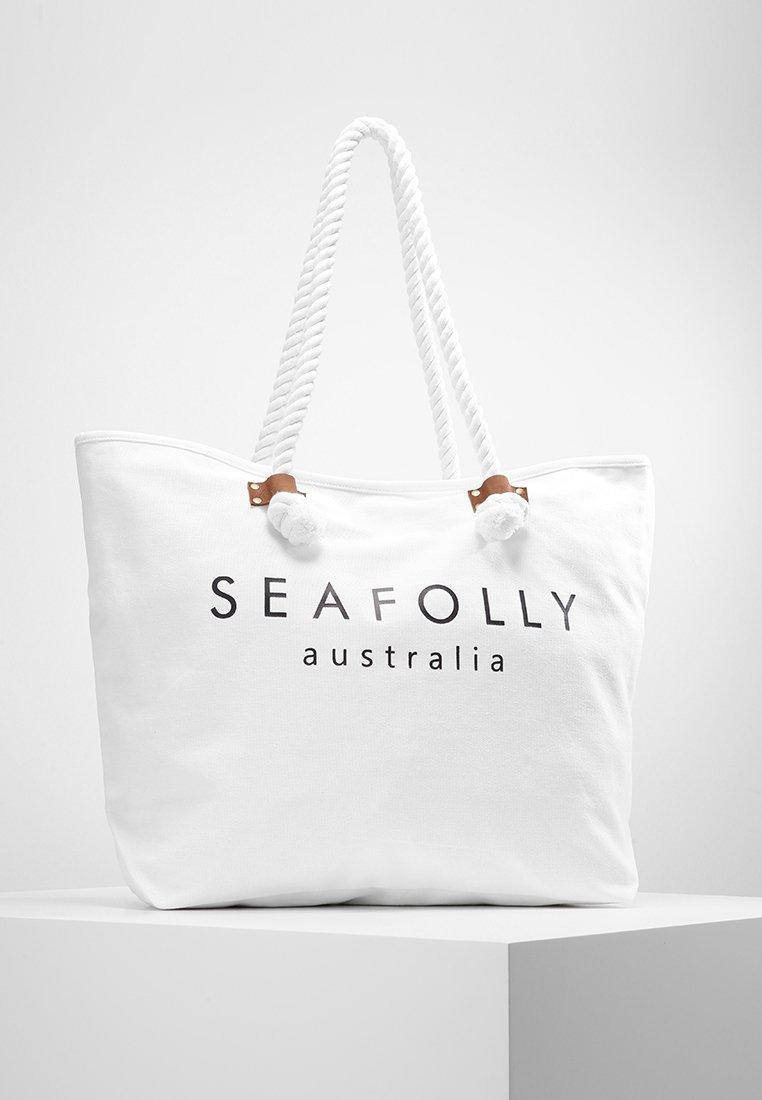 Seafolly - SHIP SAIL TOTE - Strandaccessoire - white
