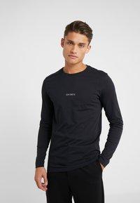 Les Deux - LENS - Long sleeved top - black/white - 0