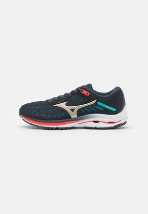 WAVE RIDER 24 - Neutral running shoes - india ink/platinum gold/scuba blue