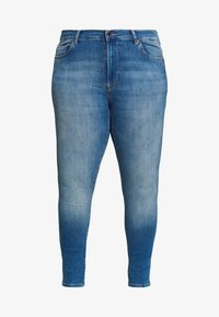 ONLY Carmakoma - CARMAYA SHAPE - Jeans Skinny Fit - light blue denim - 3