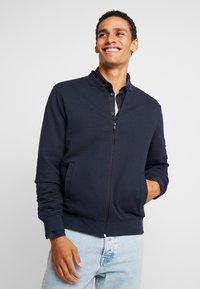 INDICODE JEANS - LANYARD - Zip-up hoodie - navy - 0