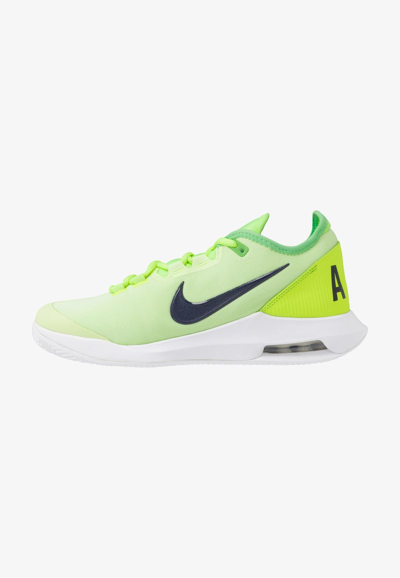 Nike Performance - COURT AIR MAX WILDCARD CLAY - Clay court tennis shoes - ghost green/blackened blue/barely volt