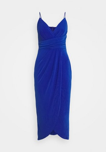 Jersey dress - royal blue