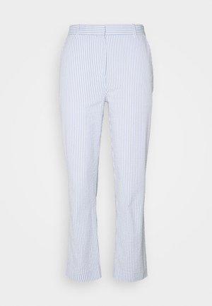 PANTALON LOISIR FEMME - Trousers - farine/purpy