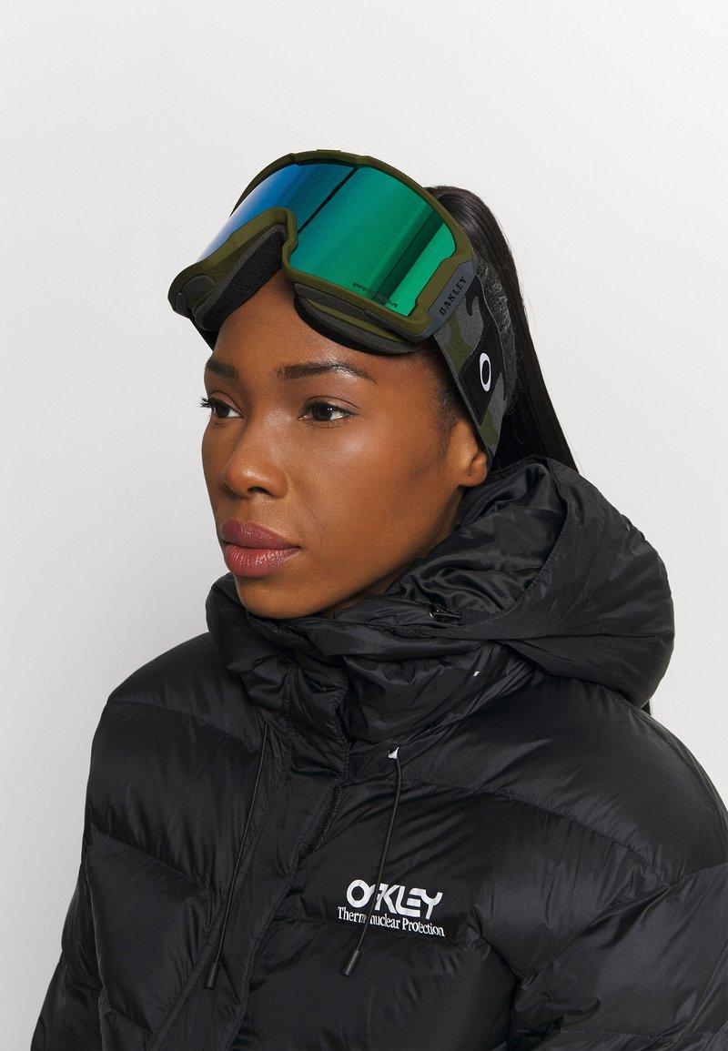 Oakley - LINE MINER - Ski goggles - green
