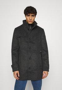 TOM TAILOR - COAT - Classic coat - dark grey - 0