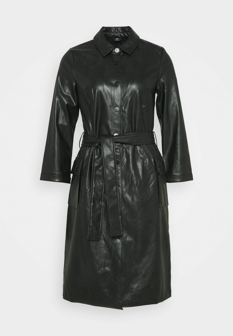 ONLY Tall - ONLMALYA DIONNE DRESS - Shirt dress - black