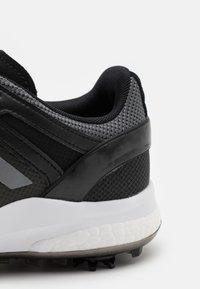 adidas Golf - EQT - Golfové boty - core black/dark silver metallic/grey six - 5