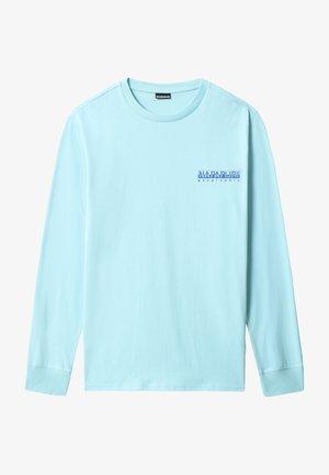 BEATNIK - T-shirt à manches longues - green plume