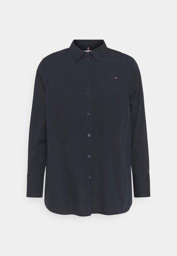 POP MONICA - Button-down blouse - desert sky