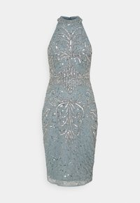 SISTA GLAM PETITE - GLOSSIE  - Cocktail dress / Party dress - grey/blue - 0
