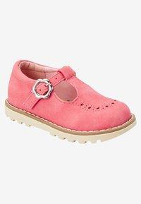 Next - Ankle strap ballet pumps - pink - 4