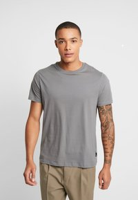 Burton Menswear London - BASIC CREW 5 PACK - Basic T-shirt - navy - 2