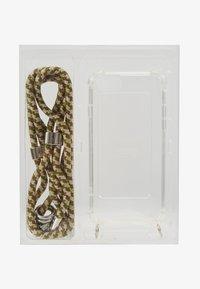 Jost - IPHONE 6/6s/7/7s/8 CASE  NECKLACE SET - Phone case - olive pat - 1