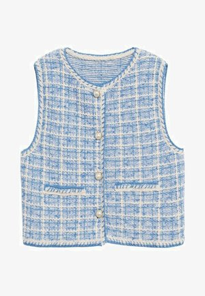 EIFFEL - Waistcoat - blauw