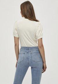 Minus - JOHANNA  - T-shirt basic - cloud dancer - 2