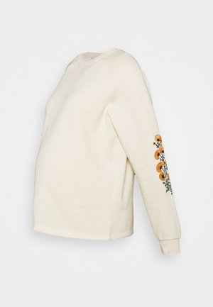 PCMFEMILLA - Sweatshirt - off-white