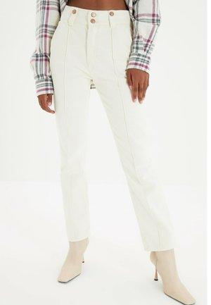 Pantalones - cream