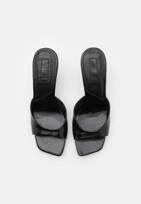 Topshop - NECI MULE - Pantofle na podpatku - black - 4