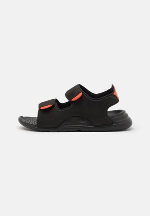 SWIM UNISEX - Pool slides - core black/footwear white